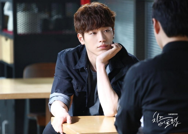 """Seo Kang-joon plays Baek In-ho in tvN's drama series """"Cheese in the Trap."""" (tvN)"""