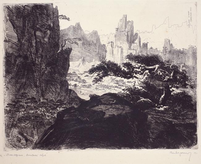 Mount Geumgangsan by Pen Varlen (MMCA)
