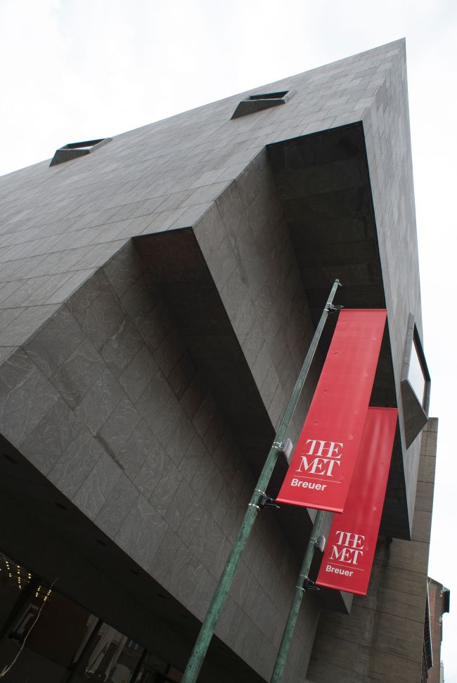 An exterior view of the Met Breuer, The Metropolitan Museum of Art's new space dedicated to modern and contemporary art, on the upper east side of Manhattan in New York, on March 1. (AFP-Yonhap)
