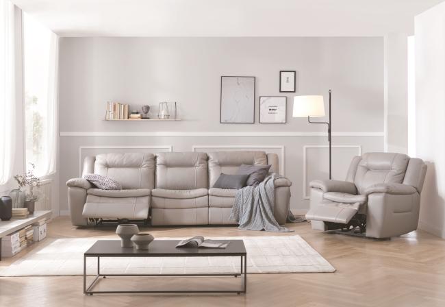 현대리바트, 침실 '그레이' 회색톤 깔끔한 집안 연출-프린트화면