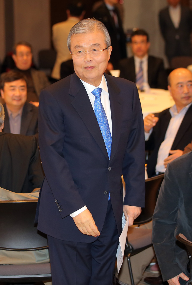 Minjoo Party chief Kim Chong-in (Yonhap)