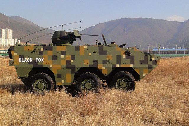 Doosan DST's armored vehicle (Doosan DST)