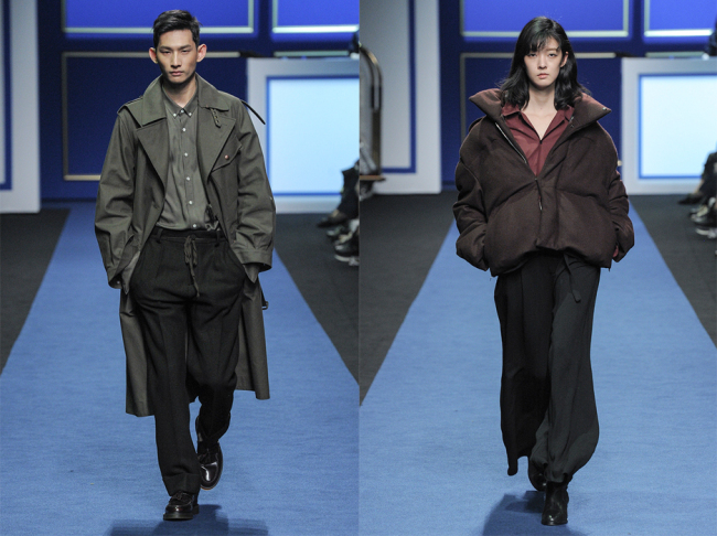Nohant's fall-winter 2016 collection (Seoul Fashion Week)