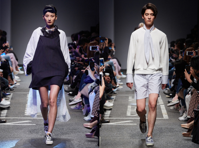 Studio K's fall-winter 2016 collection (Seoul Fashion Week)