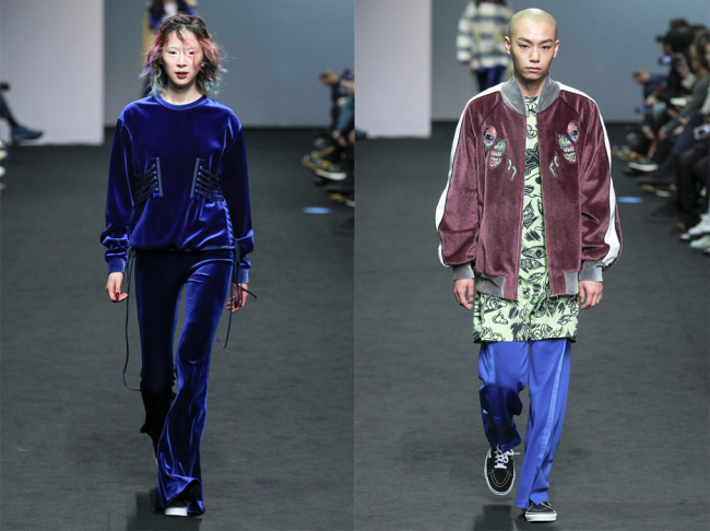 KYE's fall-winter 2016 collection (Seoul Fashion Week)