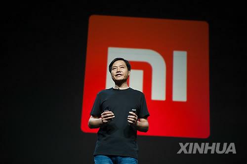 Lei Jun, the chief executive of Chinese electronics firm Xiaomi. (Yonhap)