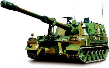Hanwha Techwin's K9 self-propelled howitzer (Hanwha Techwin)