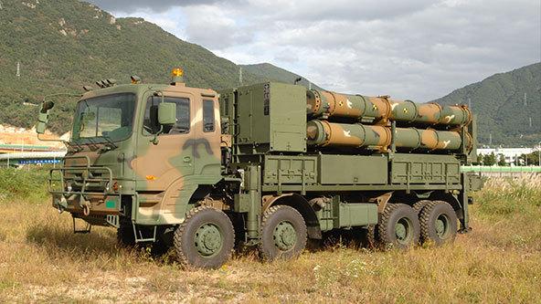 Doosan DST's land-based launcher (Doosan DST)