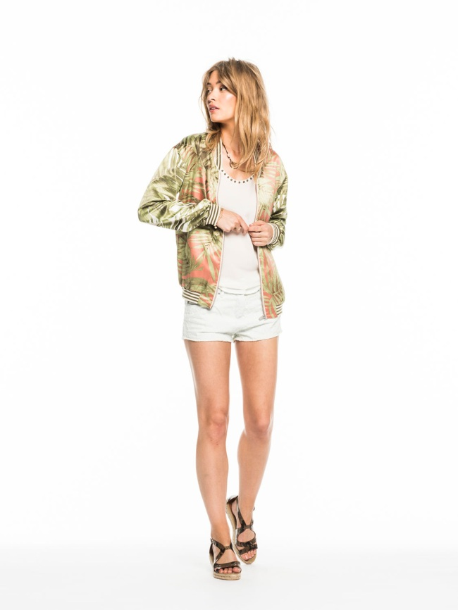 Scotch & Soda`s tropical bomber jacket. $149 at scotch-soda.com. (Scotch & Soda/TNS)