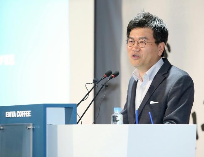 Ediya Coffee's president and CEO Moon Chang-ki (Ediya Coffee)