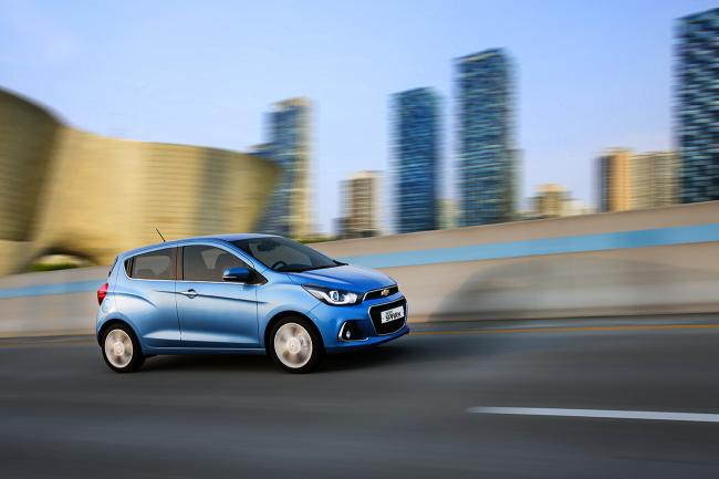 GM Korea's Chevrolet new Spark