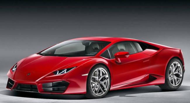 The image of Lamborghini Huracan LP 580-2