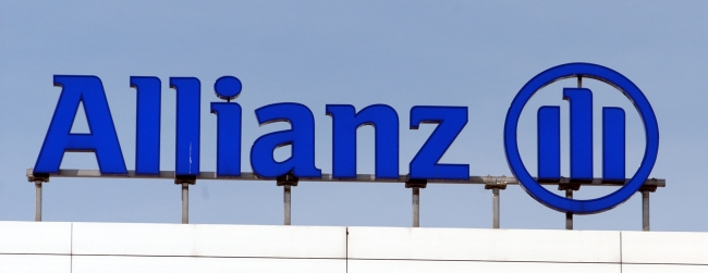 The logo of Allianz AG in Germany (Bloomberg)