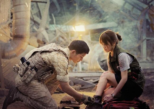 "A scene from ""Descendants of the Sun"" KBS"