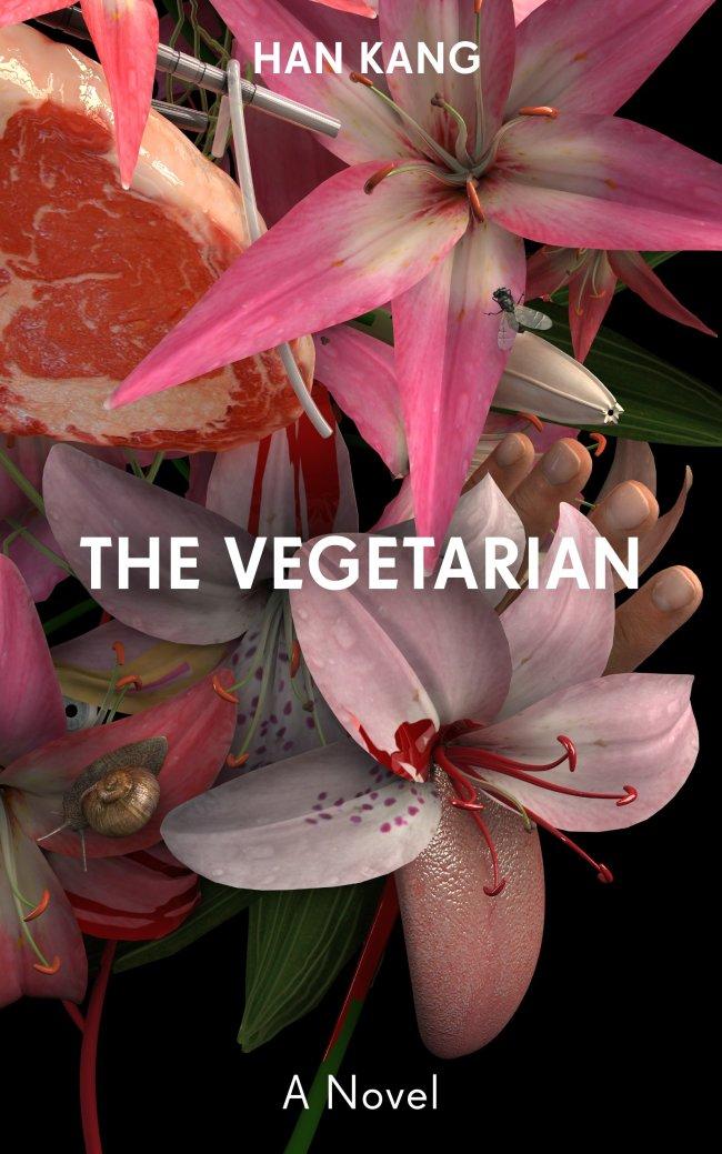 "Cover of ""The Vegetarian"" (Portobello Books)"