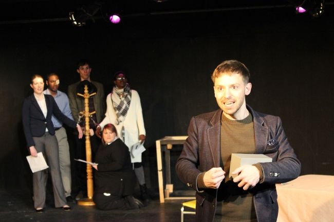 """Busan English Theatre Association's """"The Accidental Death of an Anarchist"""" (Sarah Dawn Lowry)"""