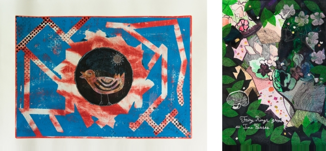 Pictures from ANKR's International Mail Art Exhibition