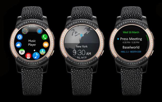 The Samsung Gear S2 by de Grisogono (de Grisigono official website)