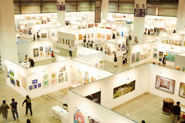 View of the Seoul Open Art Fair 2015 (Seoul Open Art Fair)
