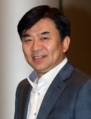 Samsung Electronics president Kim Hyun-seok