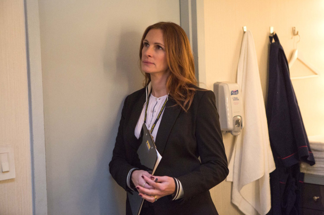 "Julia Roberts in ""Money Monster."" (Sony Pictures/TNS)"