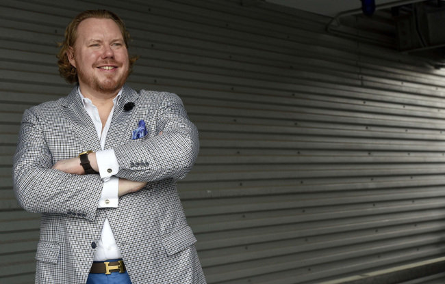 Ethan Giffin, CEO of Baltimore-based Groove, a marketing design firm (Baltimore Sun/TNS)