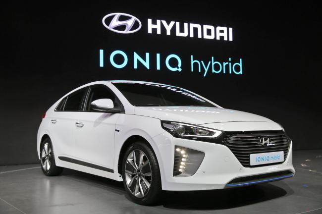 Hyundai Motor's Ioniq hybrid model (Hyundai Motor)