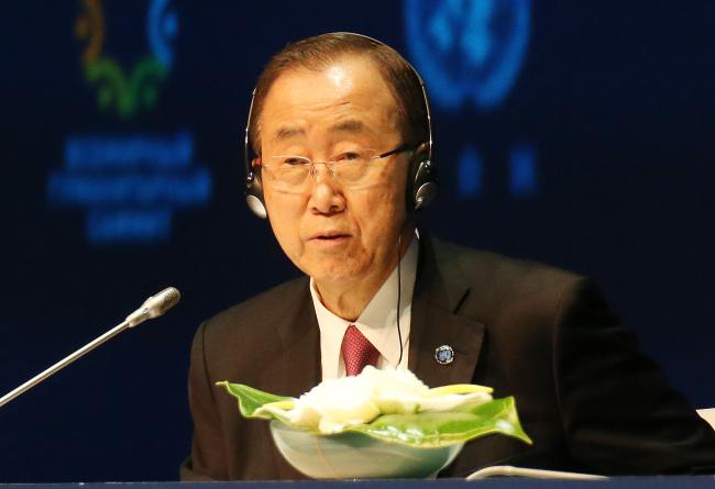 U.N. Secretary-General Ban Ki-moon AFP-Yonhap