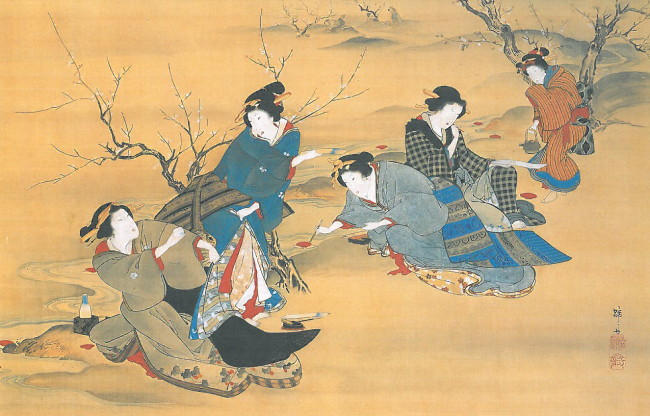 """The Beauty"" by Teisai Hokuba, Edo period (Hwajeong Museum)"