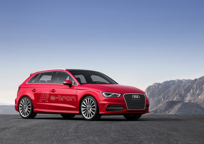 Audi's A3 e-tron plug-in hybrid