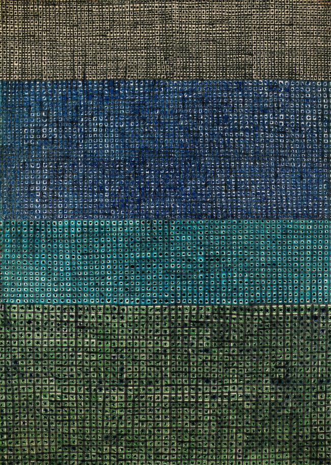 """""""Untitled 3-V-7#203"""" by Kim Whan-ki (Seoul Auction)"""