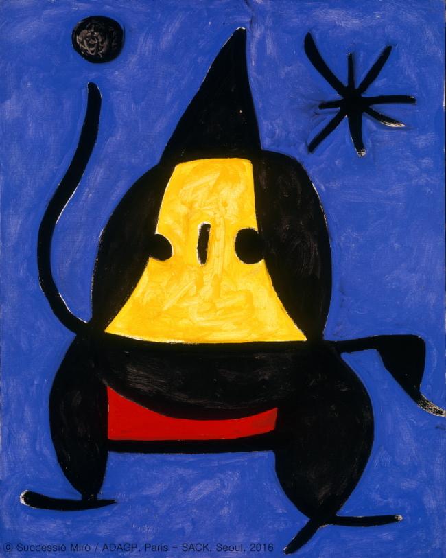 Untitled by Joan Miro (Pilar and Joan Miro Foundation)