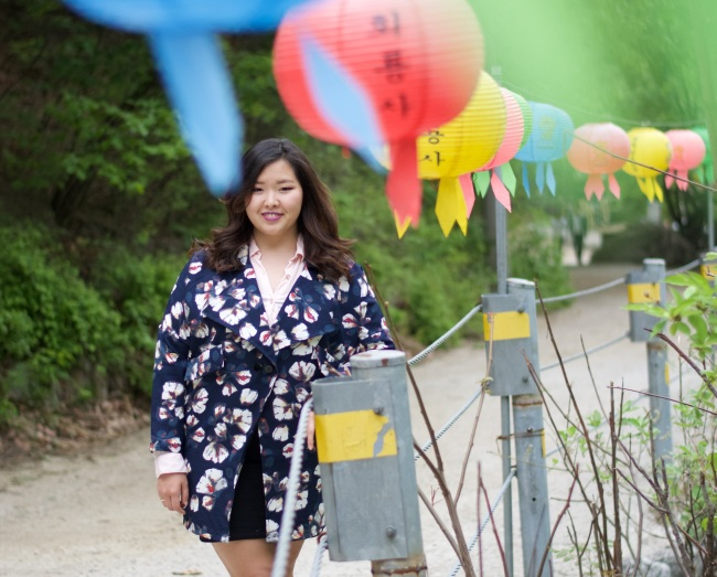 "Alina Shamsutdinova, a 22-year-old Kazakhstani student in Seoul, says she doesn't want others to pity her because of the body shaming she went through during her years in South Korea. ""I want to show people 'I am who I am, and I think I'm beautiful,'"" she says. (Photo credit: Alina Shamsutdinova)"