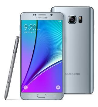 Samsung Electronics' Galaxy Note 5 (Yonhap)