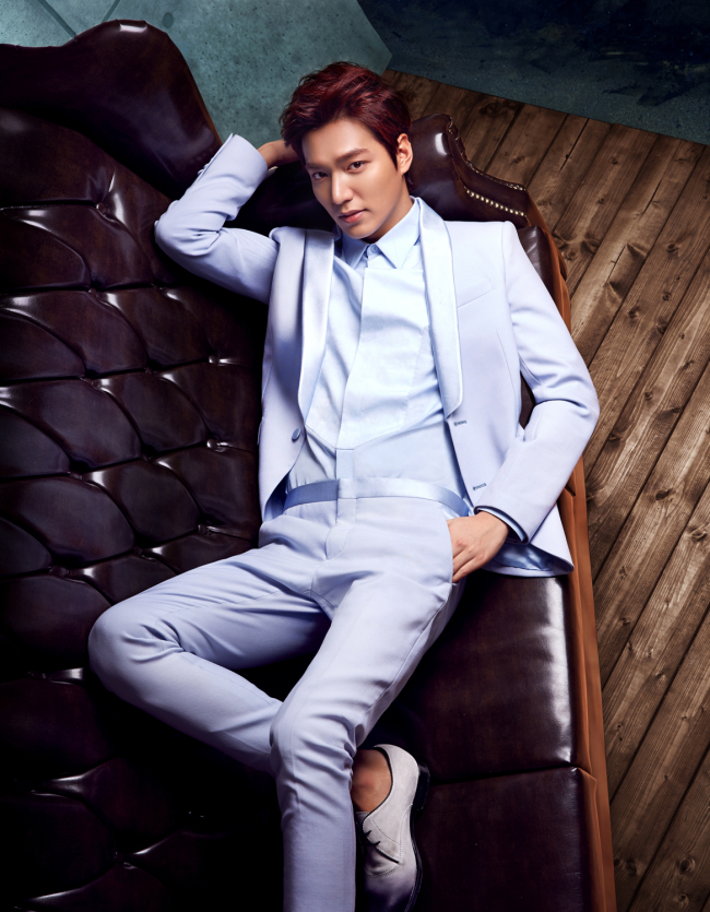Lee Min-ho (Official website)