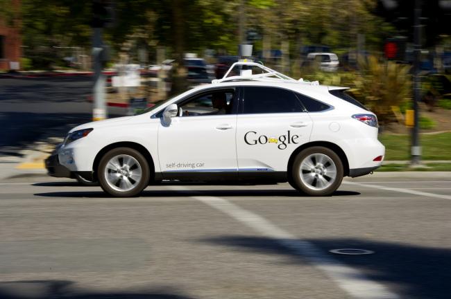 Google's driverless car (Google)