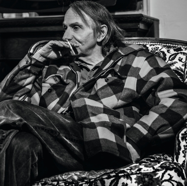 French writer and photographer Michel Houellebecq (Barbara d'Alessandri/Flammarion)