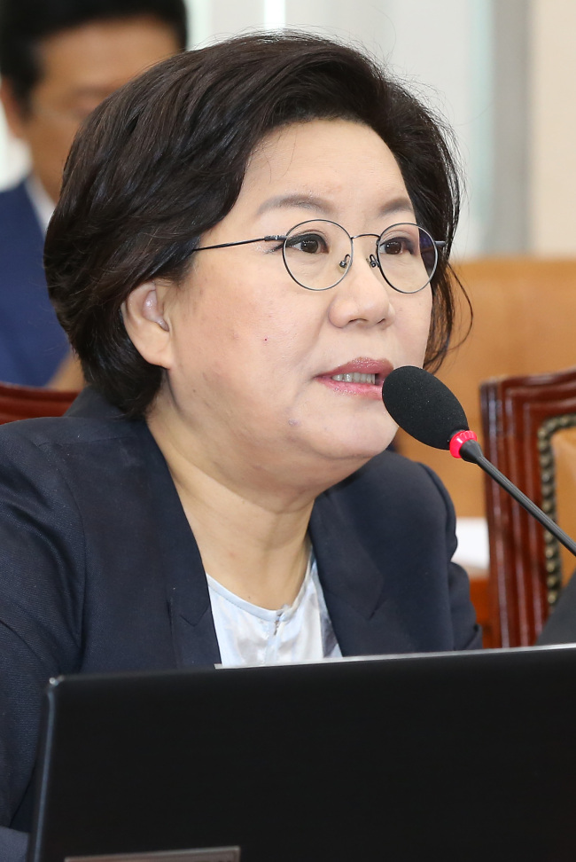 Rep. Lee Hye-hoon of the Saenuri Party. (Yonhap)