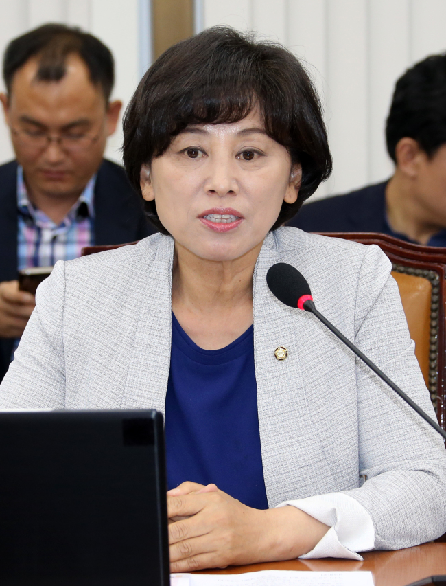 Rep. Nam In-soon of The Minjoo Party of Korea. (Yonhap)
