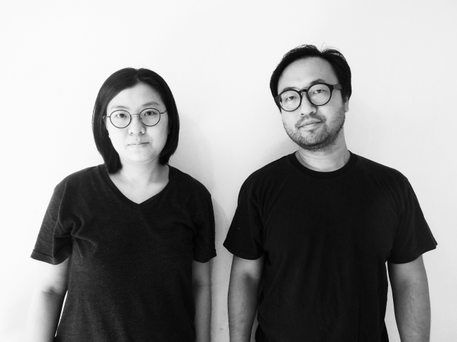 Lim Mi-jeong (left) and Lee Seung-taek of STPMJ Architecture (Korea Architects Institute)