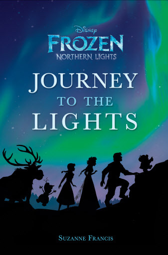 "This image released by Disney Publishing shows the cover of ""Disney Frozen Northern Lights: Journey to the Lights,"" a new book featuring characters from the animated film, ""Frozen."" (AP-Yonhap)"