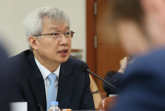 Lee Tae-ho, Deputy Minister for Economic Affairs. (Yonhap)