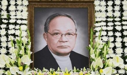 Late CJ Group honorary chairman Lee Maeng-hee.
