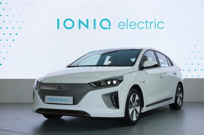 Hyundai Motor EV Ioniq.