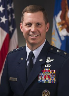 Air Force Maj. Gen. Thomas W. Bergeson, director of the Air Force secretary's legislative liaison. (Yonhap)
