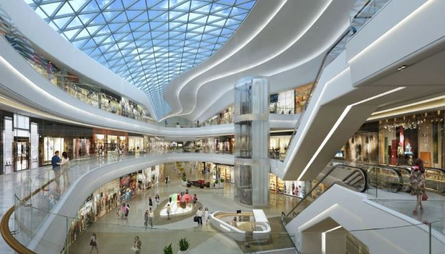 The interior of Starfield Hanam scheduled to open in September (Shinsegae Group)