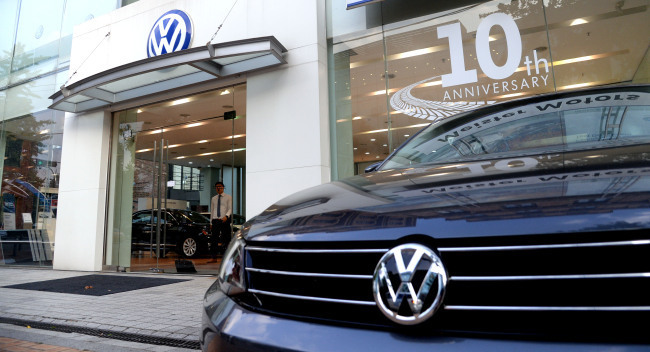 Volkswagen store in Seoul, South Korea/ The Investor