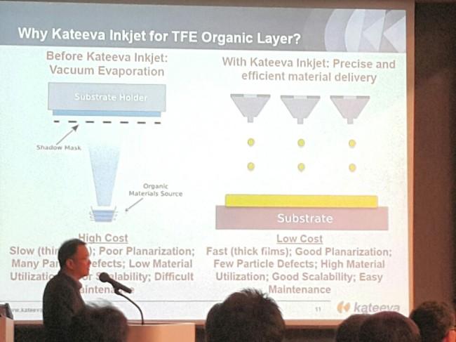 Kateeva's OLED inkjet printer/ The Investor