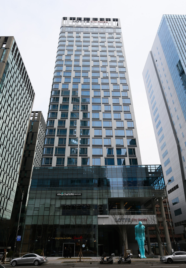 Lotte City Hotel Myeongdong located in the bustling shopping area of Myeong-dong in Seoul