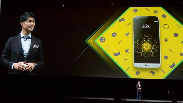LG Electronics' mobile business chief Cho Ju-no